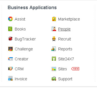Zoho-business-apps