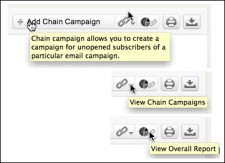 Zoho Chain Campaign Options
