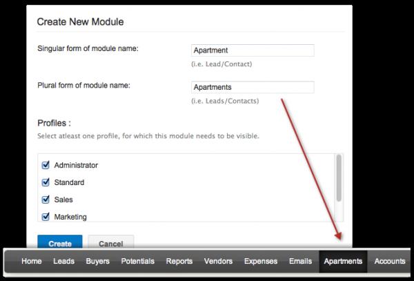 Create Custom Modules