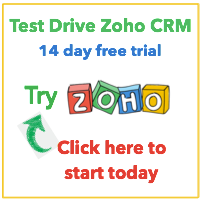 Try Zoho CRM for Free - no credit card required